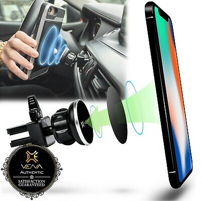 Car Vent Mount Magnetic Phone Holder for Apple iPhone XS X XR 8 Galaxy S9 Note 9