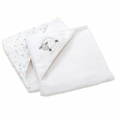 Silvercloud Counting Sheep Cuddle Robe 2Pk New