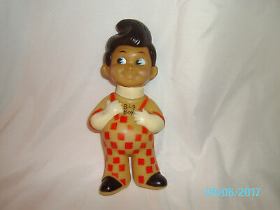Vintage Bobs Big Boy Bank; Rubber/Plastic; 1970's; approximately 9 in. tall.