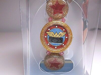 New Wonder Woman watch stretch bracelet Watch LCD Wonder Woman girls watch