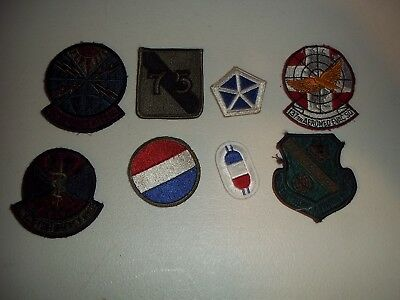 Wwi Wwii Korean War Vietnam Us Army Patch Lot #116