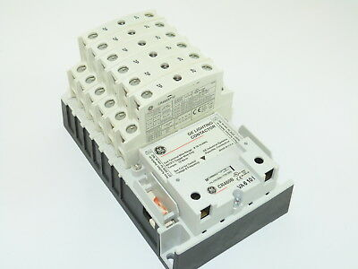 GE CR463LD0AJA Electricity Held Lighting Contactor 120v Coil 12 N.O. Poles NEW