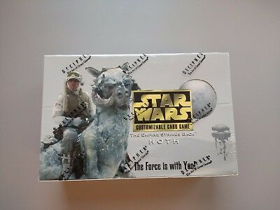 NEW Star Wars CCG Hoth Limited Ed Booster Box by Decipher MINT SEALED
