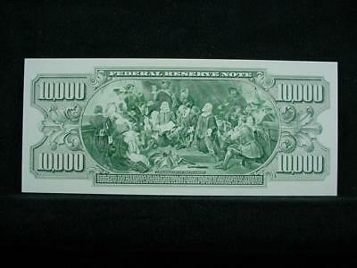 NobleSpirit NO RESERVE {3970} ABN Archive $10,000 Uniface Trial Proof On Card
