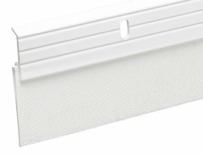 Frost King A79WHA Premium Aluminum and Reinforced Rubber Door Sweep 2-Inch by