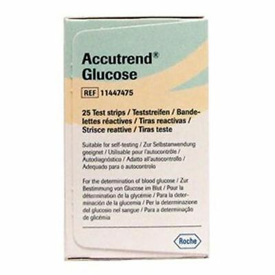 Accutrend Glucose II Test Strips x 25