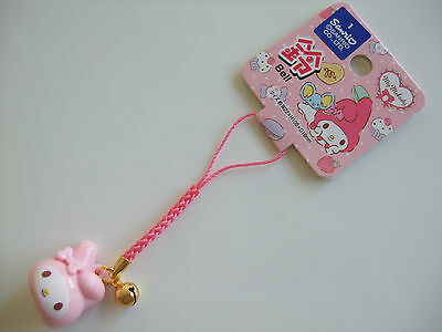 Sanrio My Melody Kawaii Mascot Strap with a Bell