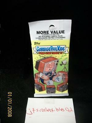 2016 Topps Garbage Pail Kids Prime Slime TV Guaranteed Fools GOLD #50 Hot V Pack
