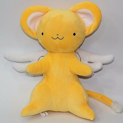 "Anime Card Captor Sakura Kinomoto Sakura Kero Plush Stuffed Doll Toy Gift 11"" N"