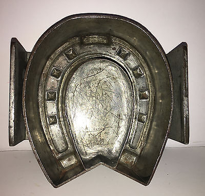 Antique Vintage HORSE SHOE CHOCOLATE MOLD.  ANTON REICHE. GERMANY.