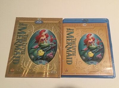The Little Mermaid Blu-ray/DVD, 2013, 2-Disc Set, Diamond Edition