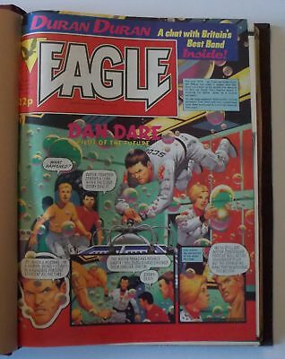 Eagle Comics - Bound Volume 6  - MAY 4 1983 to JUL 30 1983 - FREE GIFTS!!