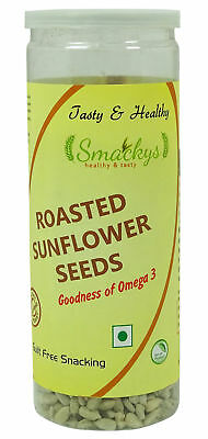 Smackys Guilt Free Nutritious Seeds Roasted Sunflower Seeds, Certified-  5.29 Oz
