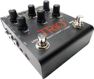 Trio+ Band Creator Plus Looper Guitar Effects Pedal
