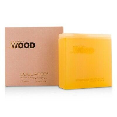 NEW Dsquared2 She Wood (Hydration)2 Body Wash 200ml Perfume