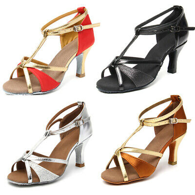 Brand New Ballroom Latin Dance Shoes for Women/Girls/Tango&Salsa heel protectors