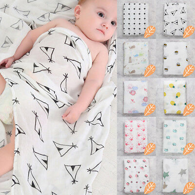 New Toddler Kids Newborn Baby Boys Girls Stretch Wrap Swaddle Blanket Bath Towel