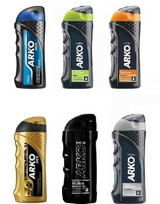 6x ARKO Rasierwasser After Shave Cologne Kolonya Mix  250ml
