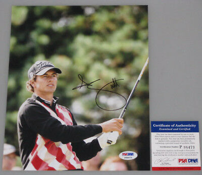 ADAM SCOTT Hand Signed 8'x10' Photo 7 + PSA DNA COA * BUY GENUINE *