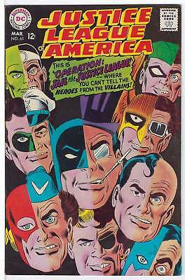 Justice League of America (Vol 1) #  61 (VryFn Minus-) (VFN-)  RS004 AMERICAN