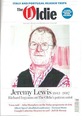 THE OLDIE Magazine June 2017 Jeremy Lewis Speer Deneuve Telegraph loss Collect!