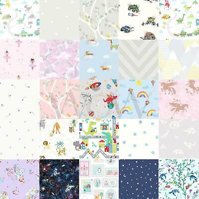 Holden Kids Bedroom Wallpaper Boys Girls - Unicorn Animals Space