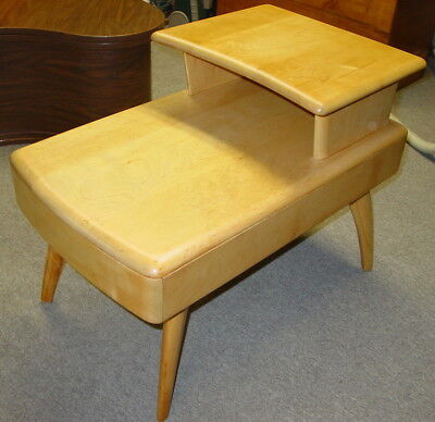 Heywood Wakefield M794G End Table w/ Drawer Refinished to New No Reserve!
