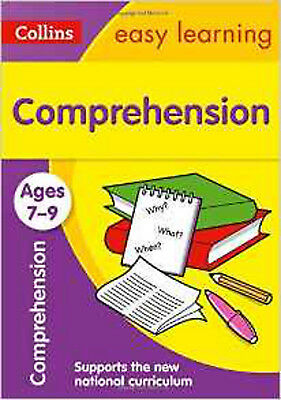 Comprehension Ages 7-9: New Edition (Collins Easy Learning KS2), New, Collins Ea
