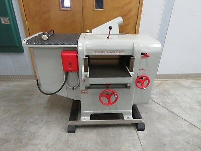 """Powermatic -  Model E16 (160) Thickness Planer - 16"""" wide x 6"""" thick Capacity"""