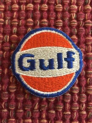 Vintage Embroidered Gulf Patch Full gas oil hat uniform 817-s25 Free Shipping