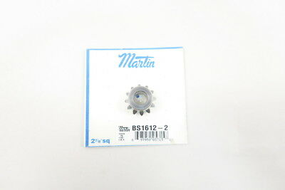 New Martin Bs1612-2 Bevel Gear 3/8In Bore 12-Tooth 20Deg D585021