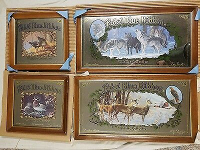 Pabst Wildlife Collection Mirrors Full Set