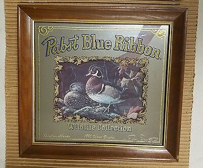 Pabst Wildlife Collection Mirror Wooducks