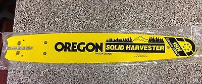 Chainsaw Oregon Solid Harvester Sprocket Nose Bar 18H New / Unused  404 Pitch