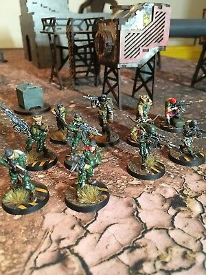Infinity The Game Tabletop Ariadna Armee 200 Punkte Pro Painted