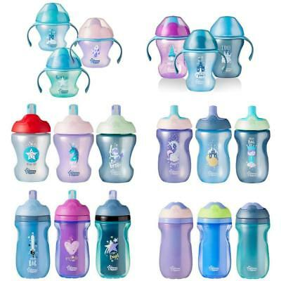 Tommee Tippee Sippy Cup Toddler Weaning Straw Sports Bottle Active
