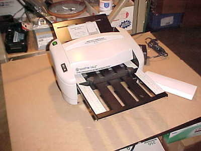1) **NEW** Martin Yale 7400 Rapidfold Autofolder - P7400. Missing a few parts.