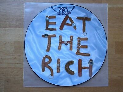 Aerosmith / eat the rich / Picture Disc / picture vinyl / Picture Maxi