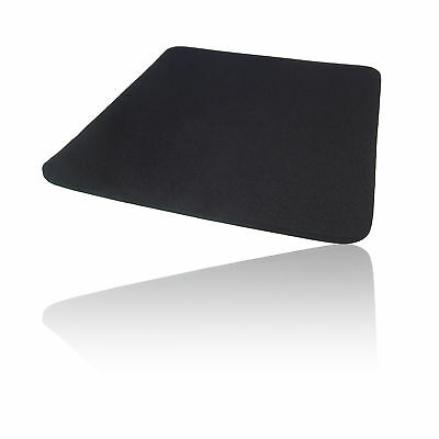 Hard Foam Cloth Covered PC Computer Mice Mouse Mat / Pad Black
