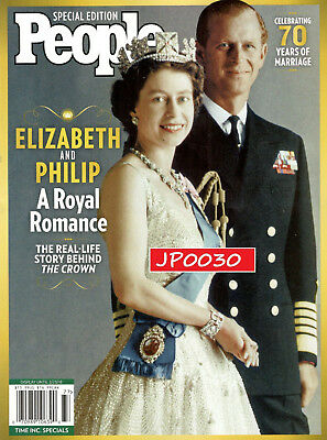 People Special 2017, Elizabeth and Philip A Royal Romance, Brand New/Sealed