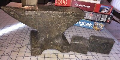 Small 33 Pound Anvil Old Vtg Antique II&B Co. Great Patina With 2 Custom Extras