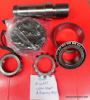 UPPER SHAFT & BEARING ASSEMBLY FOR BIRO SAW MODELS 11 22 33 34 3334 Ref. A16247