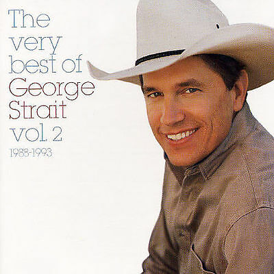 THE VERY BEST OF GEORGE STRAIT Vol. 2 1988-1993 rare Country cd 20 songs