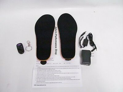 Women's Choko Rechargeable Heated Snowmobile Boot Insoles S/M 696U23900S/M