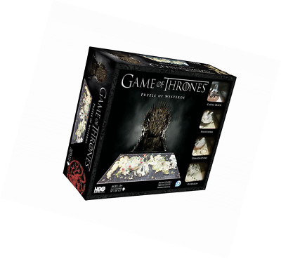 Game Of Thrones - 51000 - Puzzle Classique 4d - 1400 Pieces