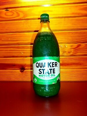Quaker State Quart Oil Bottle Never Opened