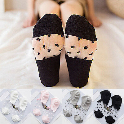 Hot Ultrathin Transparent Crystal Silk Elastic Socks Women's Girl's Lady SockM&C
