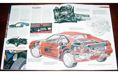 MVS Venturi 260 Fold-out Poster + Cutaway drawing