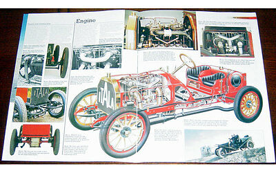 Itala Grand Prix Fold-out Poster + Cutaway drawing