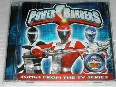 Power Rangers Songs From The TV Series CD Album